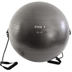 Gymnastikball-mit-Tubes-65-cm-Anthrazit-Sitzball-Fitnessball-Anti-Burst-0