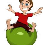 Gymnastikball / Pezziball / Sitzball