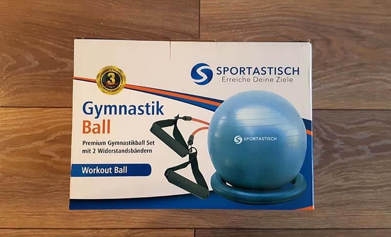 Sportastisch Gymnastikball Widerstandsbänder