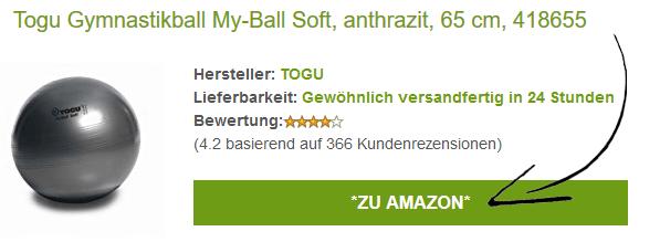 Gymnastikball / Sitzball Angebote auf Amazon